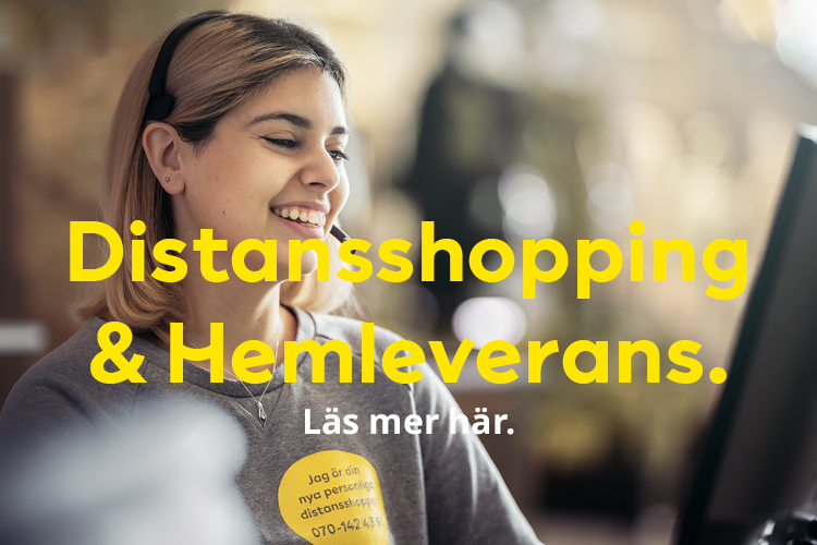 Distansshopping & Hemleverans